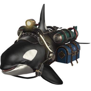 [선박 스킨] 노토스 그늘 범고래